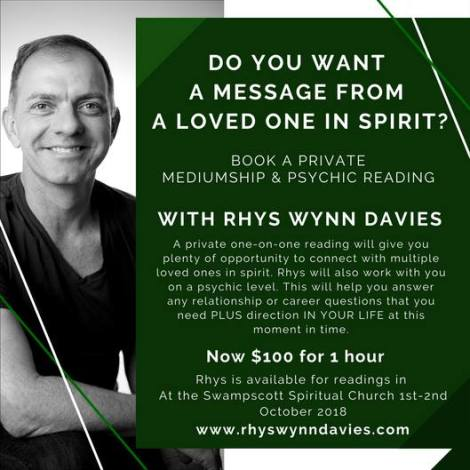 Rhys Private Readings